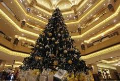 The Emirates Palace Hotel Christmas Tree