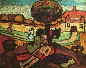 The Good Samaritan by Paula Modersohn-Becker, 1907