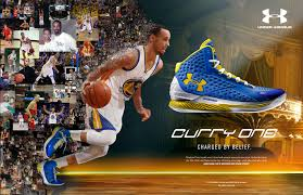 Under Armour shoe ad with Stephen Curry