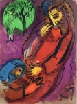 """David and Abaslom"" by Marc Chagall"